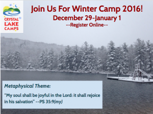 Winter Camp 2016 @ crystal lake camps | Hughesville | Pennsylvania | United States